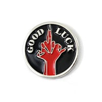 Good Luck Lapel Pin