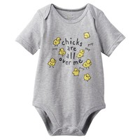 Jumping Beans ''Chicks Are All Over Me'' Bodysuit - Baby
