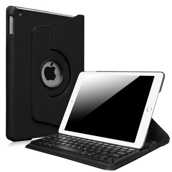 Fintie iPad Air 2 Keyboard Case - 360 Degree Rotating Stand Cover with Built-in Wireless Bluetooth Keyboard for Apple iPad Air 2 (iPad 6) 2014 Model Black