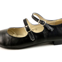 Black Joyce Mary Jane Flat