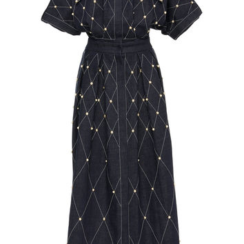 Studded Denim Dress | Moda Operandi