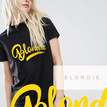 Blondie Short-Sleeve T-Shirt