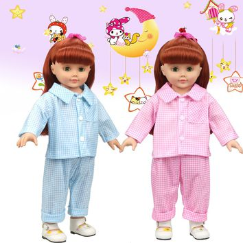 Cute Pajamas Nightgown Clothes For 18 inch Our Generation American Girl Doll