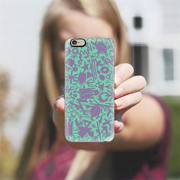 Synapses (Turquoise) iPhone 6 case by Nick Nelson | Casetify