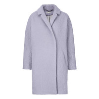 Ira Textured Cocoon Coat