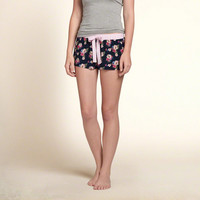 Patterned Sleep Shorts