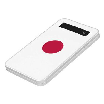 Power Bank with flag of Japan