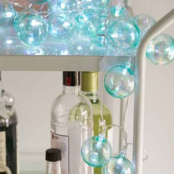 Iridescent Bubble String Lights