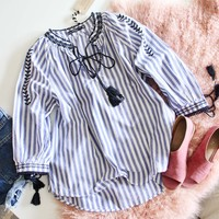 Audrey Stripe Top