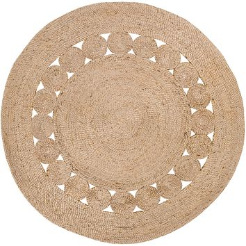 Surya Floor Coverings - SDZ1008 Sundaze 8' Round Area Rug