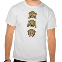see, hear and speak no evil T-Shirt