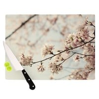"Catherine McDonald ""Japanese Cherry Blossom"" Cutting Board"
