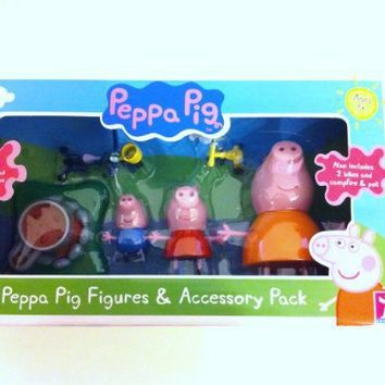 Peppa Pig Figure and Accessory Pack