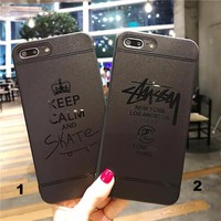 Fashion brand mobile phone case for iPhone X 7 7plus 8 8plus iPhone6 6s plus -171209