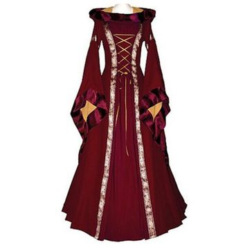 e0a1a7014cca9 Renaissance Women Costume Medieval Maiden Cosplay Costumes for W