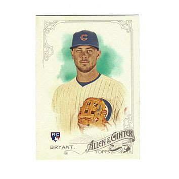 2015 Allen and Ginter KRIS BRYANT ROOKIE CARD #85 MINT