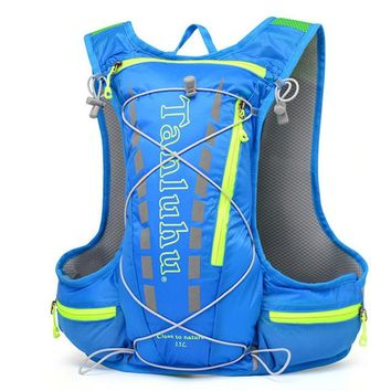 Running Vests Jogging ULTRA-TRI Lightweight Trail Running Backpack Outdoor Sports Race Training Bag Hydration Vest Pack KO_11_1