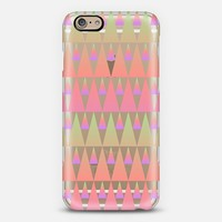 Ombre Triangles No. 2 iPhone 6 case by Lyle Hatch | Casetify