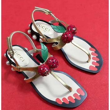 shosouvenir : Gucci Casual Fashion Women Sandal Slipper Shoes