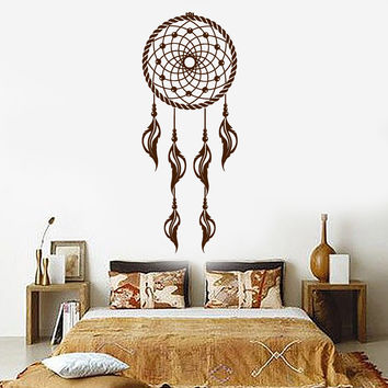 Vinyl Wall Mural Dreamcatcher Talisman Bedroom Decor Stickers (ig3147)