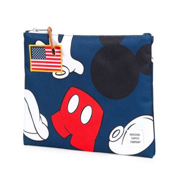 Herschel Supply Co.: Network Pouch Large - Navy / Mickey
