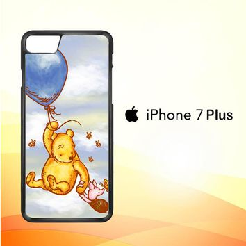 Vintage Winnie the Pooh balloon Y0726 iPhone 7 Plus Case
