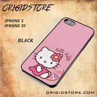 Hello Kitty Pink Lemon For Iphone 5 Case - Gift Present Multiple Choice
