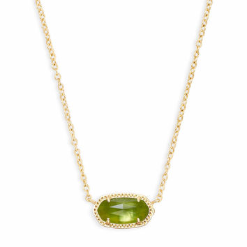 Elisa Gold Pendant Necklace in Red Berry | Kendra Scott