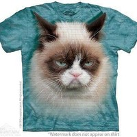 Big Face Grumpy Cat T-Shirt