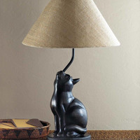 Unique Charming Curious Kitty Cat Lamp