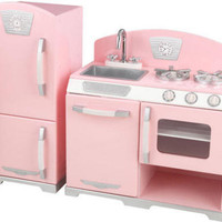 Pink Retro Kitchen