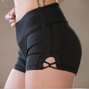 Slim Fit Women Gym Compression Booty Shorts Spandex Ladies Volleyball Running lycra Athletic