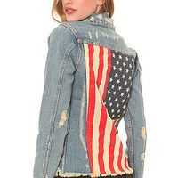 UNIF The Americana Denim Jacket : Karmaloop.com - Global Concrete Culture