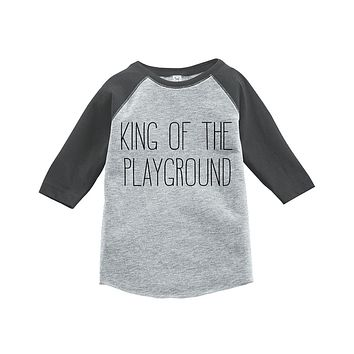 Custom Party Shop Kids Preschool School Raglan Tee