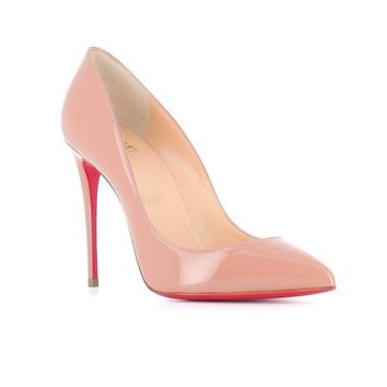 Pigalle Follies Patent Leather Pump by Christian Louboutin