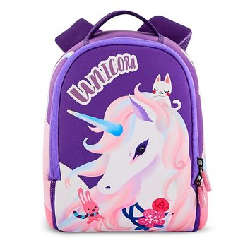 0771bc49a749 2018 New Fashion Unicorn School Bags for Girls Children Schoolba