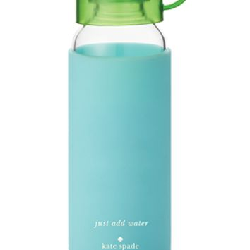 kate spade new york: water bottle - turquoise