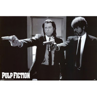 Pulp Fiction Domestic Poster