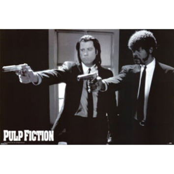 Pulp Fiction - Domestic Poster