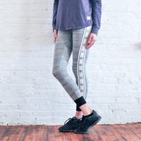 Grey Ella Reflective Legging