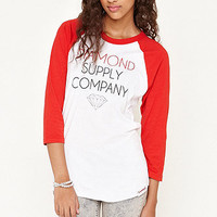 Diamond Supply Co Crew Raglan Tee at PacSun.com