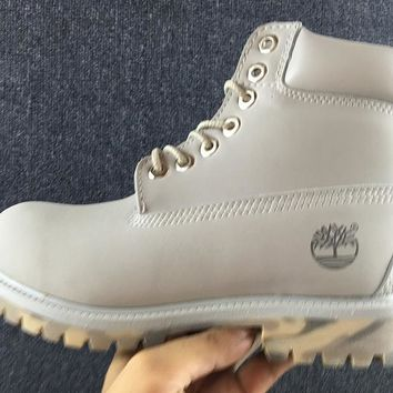 Timberland Rhubarb Boots 10061 2018 Grey For Women Men Shoes Waterproof Martin Boots