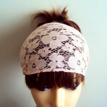 Romantic Lace Head Band Yoga Headband Workout Headband Fitness Headband Running Headband Women Hair Accessories Festival Headband Gift Ideas