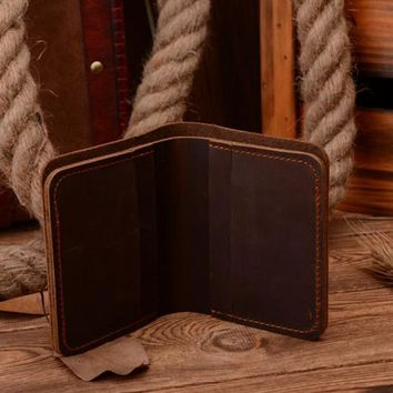 Genuine Leather-Men Wallets