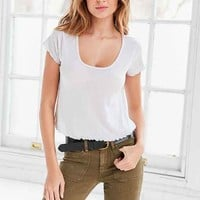 Truly Madly Deeply Elisa Lettuce-Edge Tee