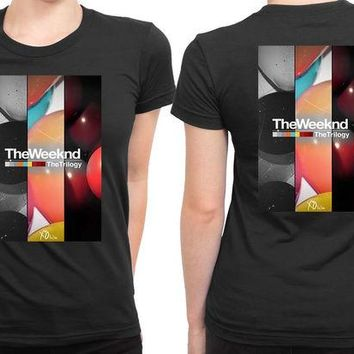 VONEED6 The Weeknd The Trilogy Xo 2 Sided Womens T Shirt