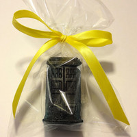 10 Dr Who soap favors, Tardis Soap/ Dalek Soap - ready to give. Birthday favor, Wedding favor, bridal shower, geek theme, dr who party