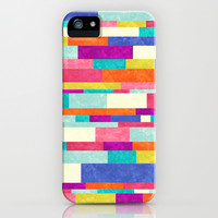 Happy Go Lucky iPhone & iPod Case by Jacqueline Maldonado