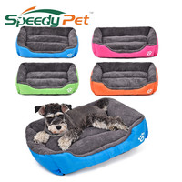 Pet Dog Bed Warming Dog House Soft Material Pet Nest Candy Colored Dog Fall and Winter Warm Nest Kennel For Cat Puppy 5 Colors