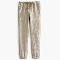 J.Crew Womens Petite Washed Lamé Pull-On Pant